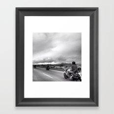 Desert Ride, Nevada Framed Art Print
