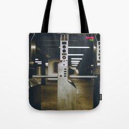 Subway Story Tote Bag