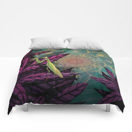 Praying Mantis Comforters