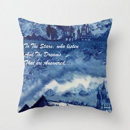 Velaris Sky Throw Pillow