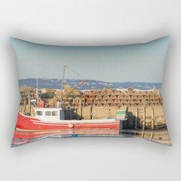 Mill Cove Lobstering Rectangular Pillow