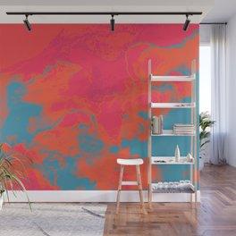Pixelated Wall Mural