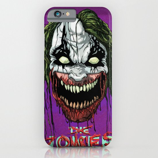 Joker Zombie iPhone & iPod Case
