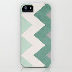 Wintergreen - Chevron iPhone (5, 5s) Slim Case