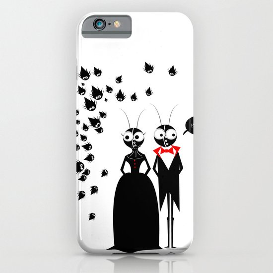 Mr.&Mrs. Black iPhone & iPod Case