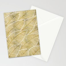 Tropical Gold Stationery Cards