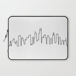 Chicago, Illinois City Skyline Laptop Sleeve