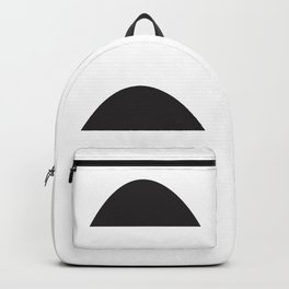 Wonky Arches | Black + White Backpack