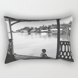 Quiet Moment on Isla Bastimento, Panama Rectangular Pillow