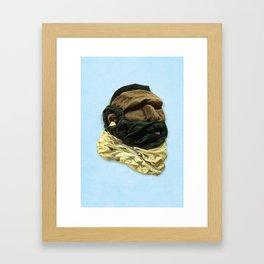 Mr. Tee Framed Art Print