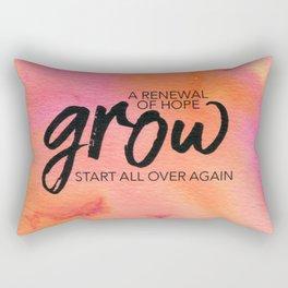 Beyond the Lines 30 Rectangular Pillow