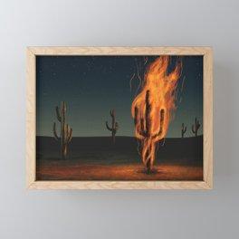 Far From Any Road Framed Mini Art Print