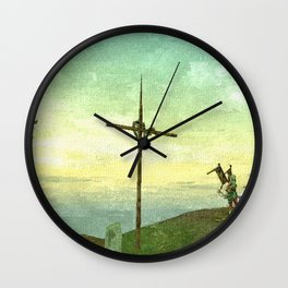 Cross - 交叉 Wall Clock