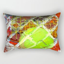 Modern Tennis art 5 Rectangular Pillow