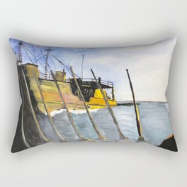 marine survey Rectangular Pillow