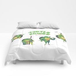 Ninja Turtles Turtle Power Comforters