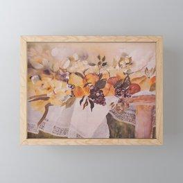 Watercolor Fruit Framed Mini Art Print