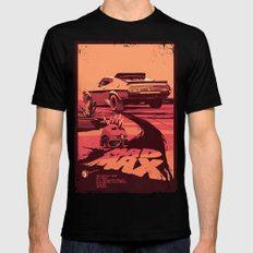 Mad Max Mens Fitted Tee Black LARGE