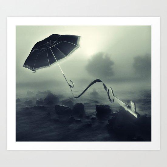 Hope Floats Away Art Print