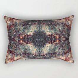 Space Mandala 30 Rectangular Pillow