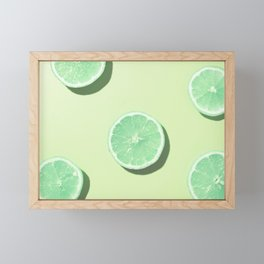 #1_Acid lemons Framed Mini Art Print