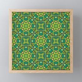 Joyful Ethnic Patterns of Celebration: Version 5 Framed Mini Art Print