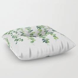 Eucalyptus Garland  Floor Pillow