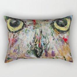 Mystic Owl Rectangular Pillow