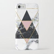 Geo glam marble iPhone 7 Slim Case