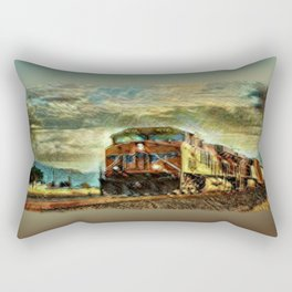 Observance Valley Freight Line Rectangular Pillow