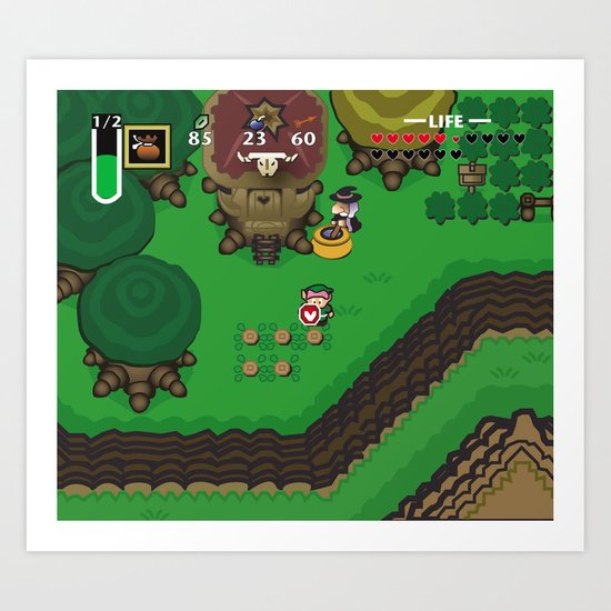 A Link to the Past Art Print