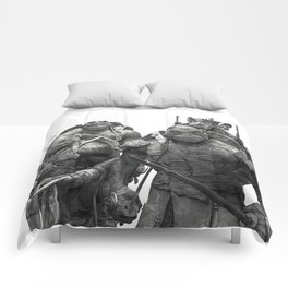 Green Teenage Heroes Comforters