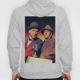 Basil Rathbone and Nigel Bruce Hoody