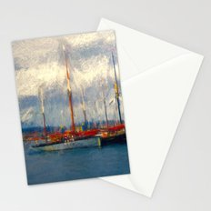 Waiting to sail Stationery Cards