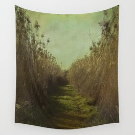 The path into the unknown Wall Tapestry