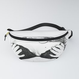 asc 253 - Les balconnets (The two half-cups) Fanny Pack