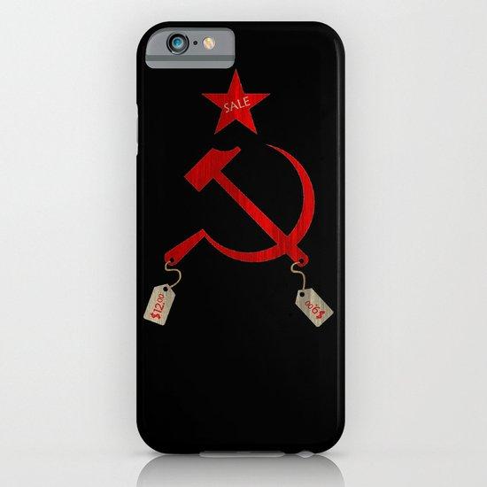 Communism vs. Capitalism iPhone & iPod Case