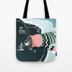 Mitten cave Tote Bag