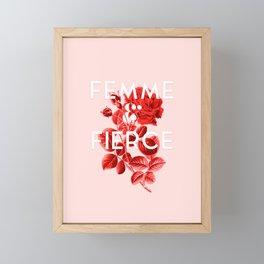Femme & Fierce Framed Mini Art Print