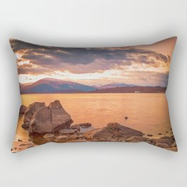 Liquid Gold Loch Lomond Rectangular Pillow