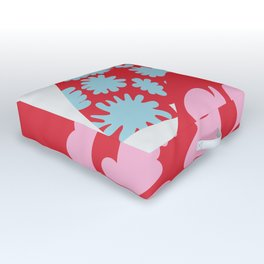 Fashion Mix Colors Outdoor Floor Cushion