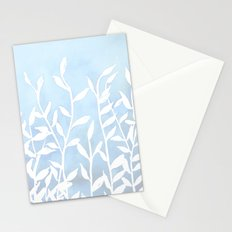 Blue Nature Stationery Cards