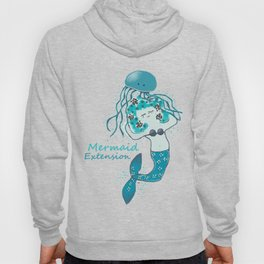 Mermaid Extension Hoody