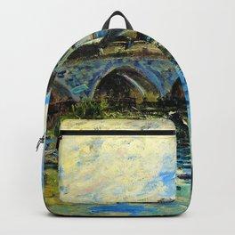 Alfred Sisley - La Havre Muma Sisley Pont Moret - Digital Remastered Edition Backpack