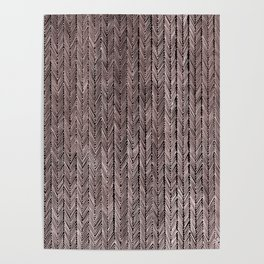 Ink Weaves: Rose Gold (II) Poster