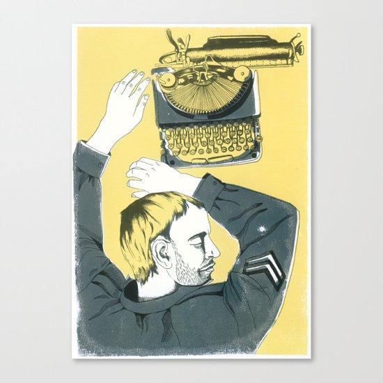 soldier Canvas Print
