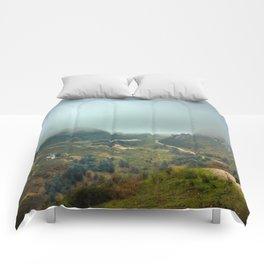 Peaks of Europe Comforters