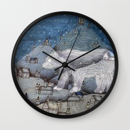 I Protect This Place Wall Clock