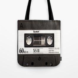 Cassette Tape Black And White #decor #homedecor #society6 Tote Bag