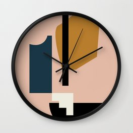Shape study #2 - Lola Collection Wall Clock